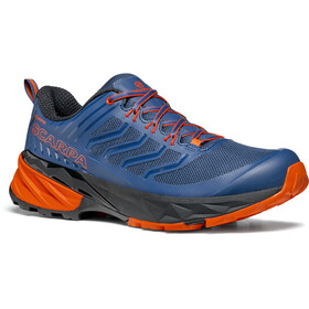 Scarpa Rush GTX Shoes Men, blue/fiesta